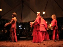 GEODETSKA KUPOLA -Bundek ZAGREB   IX 2008.Predstava plesne skupine iz Izraela teatar VERTIGO DANCE COMPANY - predstava