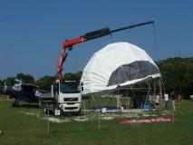 GEO-NET 12M geodetska kupola,KUPOLE NET,NET KUPOLE