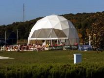 KUPOLA Geo-Net 12m promjera metalna,Vrsar Aerodrom Sky Bar