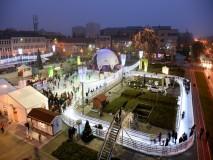 2015  VARAŽDIN Velika kupola GEO-NET 15 m promjera  +klizalište kapucinski trg