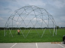 Velijka kupola promjer 14.4 m 150 m2 tlocrtne površine,mogućnost kata