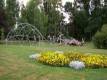 KONSTRUKCIJA KUPOLE U PARKU PORED STAROG GRADA U ČAKOVCU  2007,GEO-NET GEODETSKA KUPOLA 12M PROMJERA
