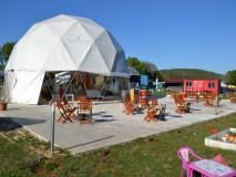 KUPOLA - GEO-NET 12M Geodetska kupola  SKY BAR ,aerodrom Vrsar