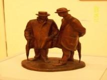 BORIS LEINER-skulptura- PJESNICI