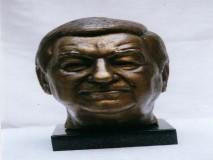 RELJA BAŠIĆ-skulptura - autor BORIS LEINER