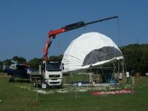 VRSAR Aerodrom GEO-NET 12m kupola SKy Bar