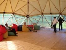 Geo net 12MD kupola BLATUŠA-Kordun,kupola za meditacijska druženja 2009